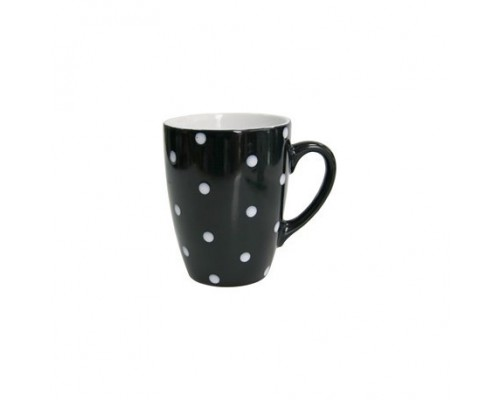 Кружка 320 мл Milika Funny Dots Black 0420-8024A ML PM