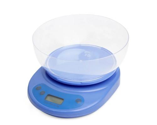 Кухонные весы электронные синие Kamille КМ-7103 PM