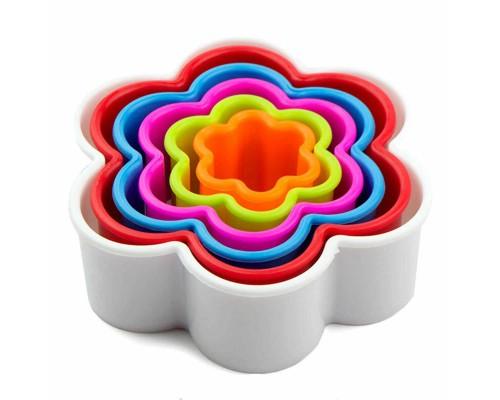 Вырубка для теста и мастики Цветок 6 штук в наборе PM