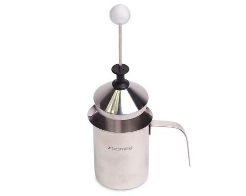 Вспениватель Kamille для молока с крышкой 400 мл KM-5841PM