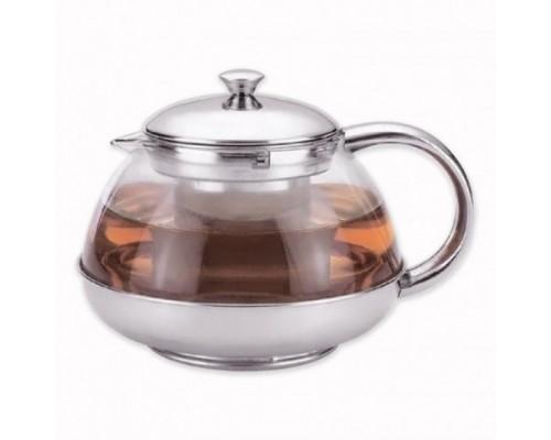 Заварочный чайник Kamille на 800 мл со съемным ситечком KM-4316 PM