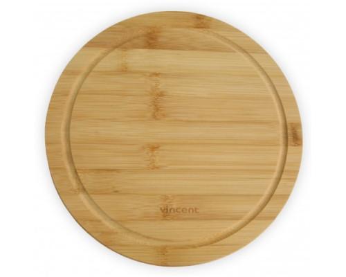 Доска для пиццы Vincent круглая бамбук 28 х 28 х 1,2 см 2103-28 VC PM