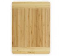Доска кухонная бамбуковая прямоугольная 34 х 24 х 1,8 см Lessner 10300-34 PM