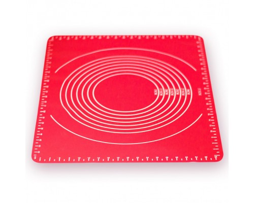 Коврик силиконовый 49.5 х 39.5 х 0.1 см для раскатки теста Kamille-7743 PM