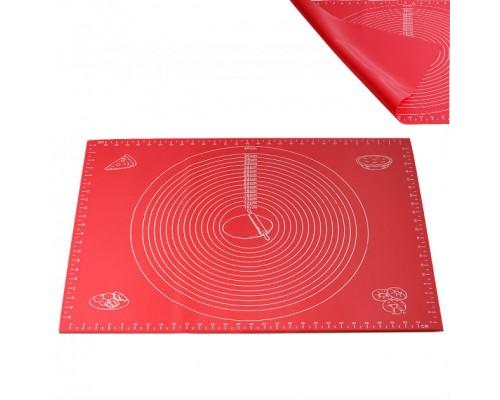 Коврик силиконовый 60 х 45 см для раскатки теста и выпечки Kamille КМ-7786 PM