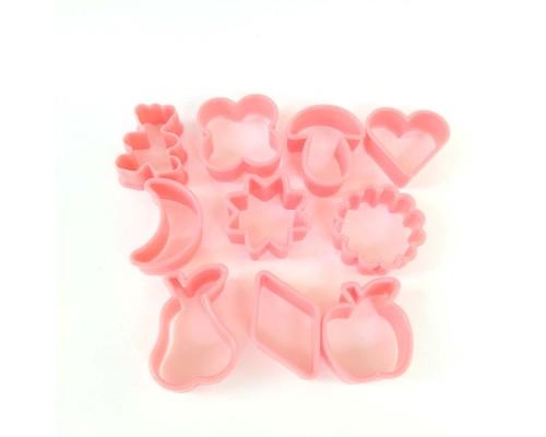 Набор форм для печенья пластиковых 10 шт Ytech PM