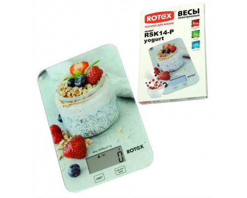 Весы кухонные ROTEX RSK14-P Yogurt PM