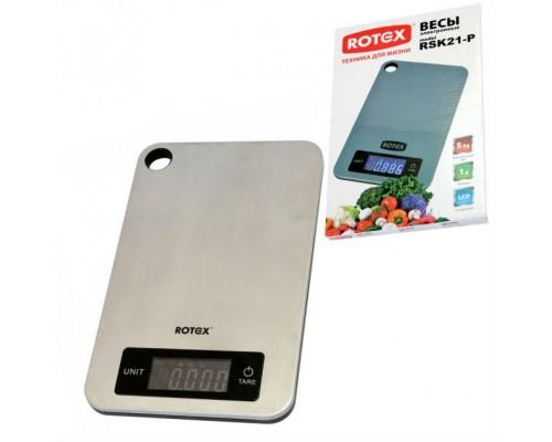 Весы кухонные Rotex RSK21-P PM