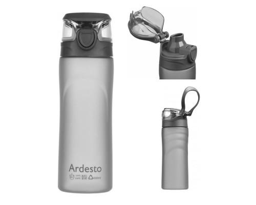 Бутылка для воды 600 мл Ardesto AR2205PGY Серая PM