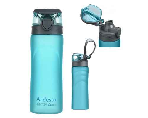 Бутылка для воды 600 мл Ardesto Matte Bottle AR2205PB PM