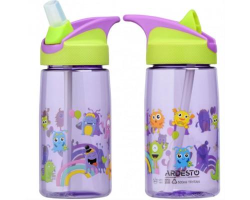Бутылка для воды Luna Kids детская 500 мл Ardesto AR2201TM PM