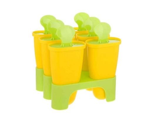 Форма для приготовления мороженного Алеана желтая