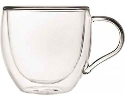 Набор чашек Ardesto с двойными стенками 300 мл h- 9,2 см 2 шт боросиликатное стекло AR2630GHN PM