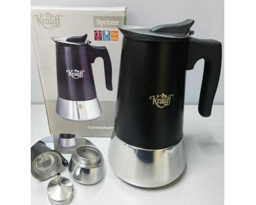 Гейзерная кофеварка 300 мл Krauff 26-203-071 PM