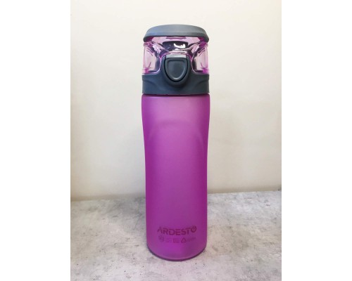 Бутылка для воды 600 мл Ardesto Matte Bottle AR2205PR PM