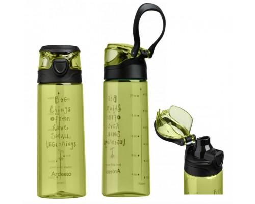 Бутылка для воды 700 мл Ardesto AR2206PG Зеленая PM