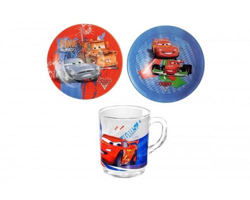 Набор детской посуды Disney Cars 3 предмета Luminarc 2128-LUM PM
