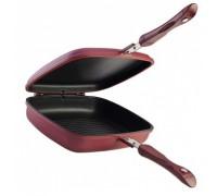 Сковорода-гриль Granchio 88255 Griff двойная 26*21 см.  СКОВОРОДЫ ГРИЛЬ
