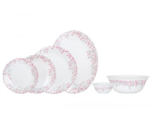 Сервиз столовый Arcopal Florinia Pink&Grey  26 предметов
