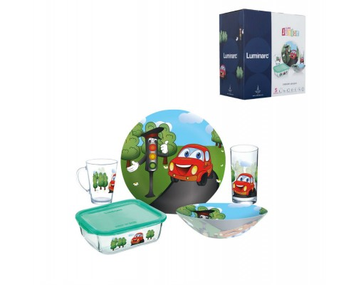 Набор детский 5 предметов Luminarc Vroom 7868P PM