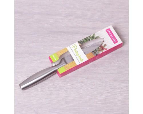 Кухонный нож из нержавеющей стали для овощей лезвие 9 см Kamille 5144
