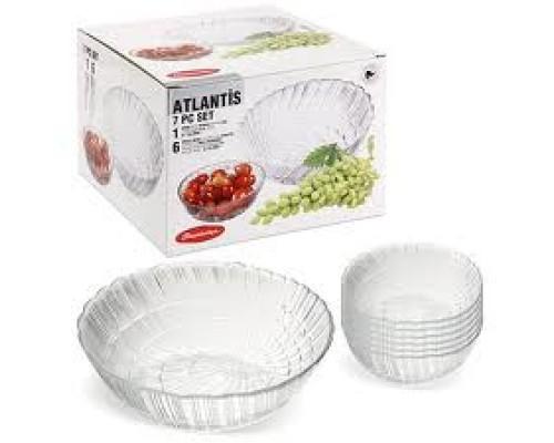 Набор салатников Pasabahce 97934 Атлантис 1+ 6шт.