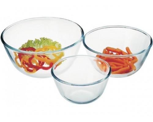Набор салатников круглых 3 шт Simax 328 Color PM