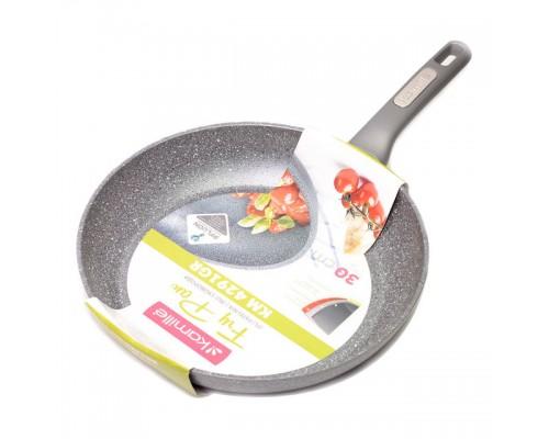 Сковорода Kamille d 30 см с гранитным покрытием из алюминия KM 4291 GR