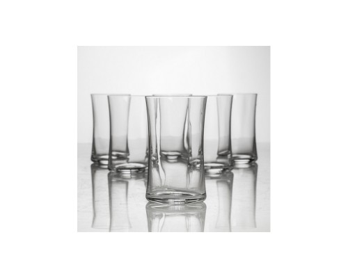 Набор стаканов Bohemia 2SF08 420 Crystalite Buteo (Marco).