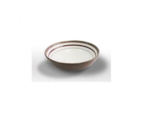 Тарелка Milika 0440 Mocco Brown.