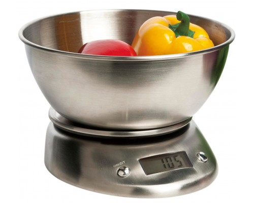 Весы кухонные Bergner 5650 с чашей из нержавеющей стали, 1600 мл.