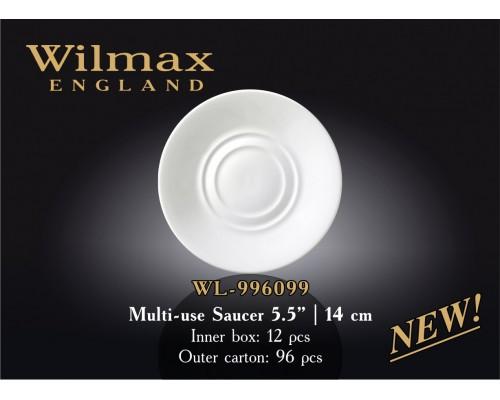 Блюдце Wilmax WL-996099 универсальное 14 см.