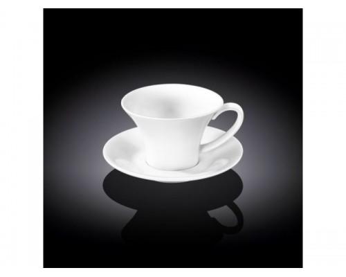 Чашка кофейная с блюдцем Wilmax WL-993168 100 мл.