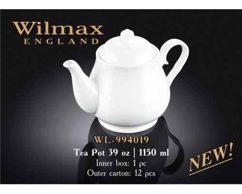 Чайник Wilmax WL-994019 заварочный Color 1150 мл.