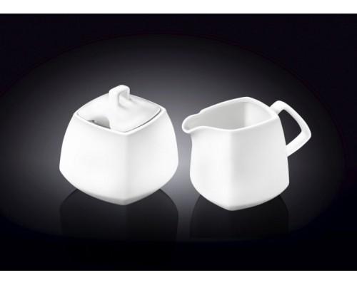 Набор сахарница и молочник WILMAX 2 предмета Color 995028 / 2C WIL PM