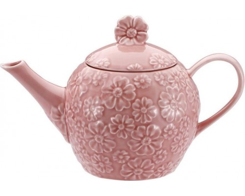 Заварочный чайник Wellberg 42603 на 1 литр, керамика.