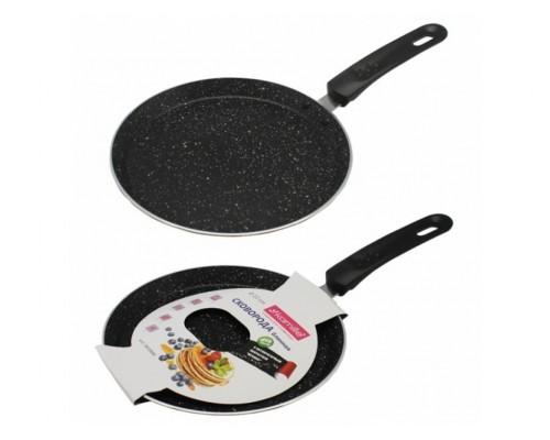 Сковорода для блинов 24 см с мраморным покрытием Kamille КМ-0620