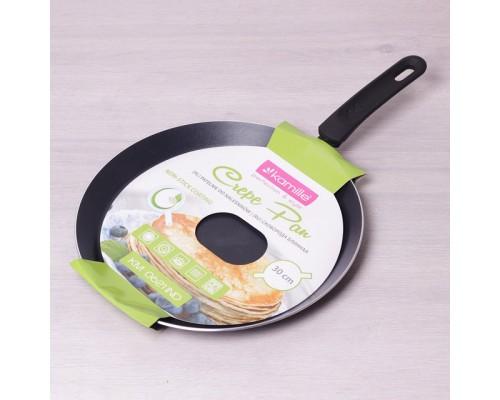 Сковорода для блинов d-30 см с антипригарным покрытием Kamille КМ-0621