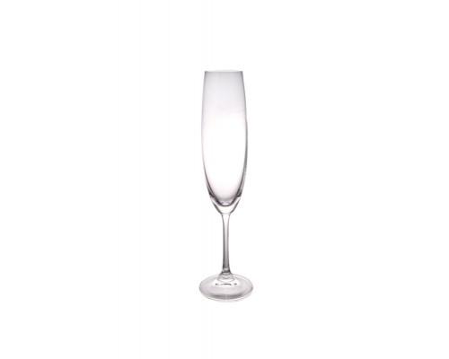 Набор бокалов Bohemia 1SD22/250 для шампанского Milvus 250 мл. 6 шт.