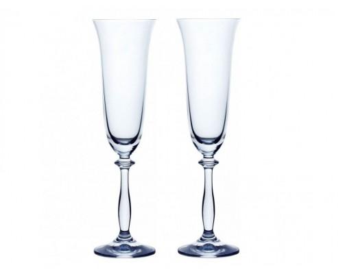 Набор бокалов Bohemia 40600/190/2 для шампанского Angela 190 мл. 2 шт.