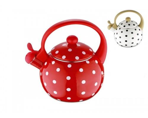 Чайник 2,2 л. Wellberg 3440/r эмалированный.