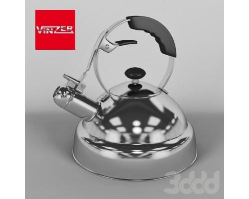 Чайник 2,6 л. Vinzer 89009 Superia из нержавеющей стали.