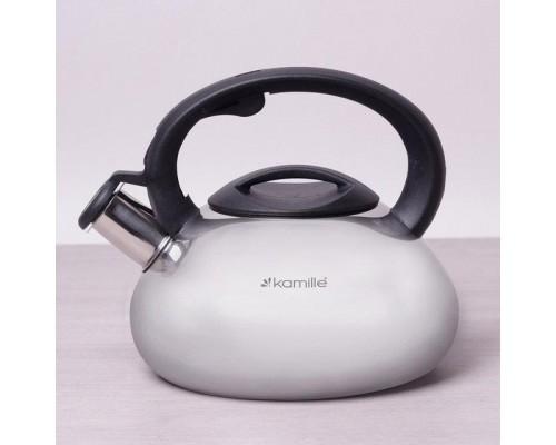Чайник 2,5 л. Kamille 0689 из нержавеющей стали.
