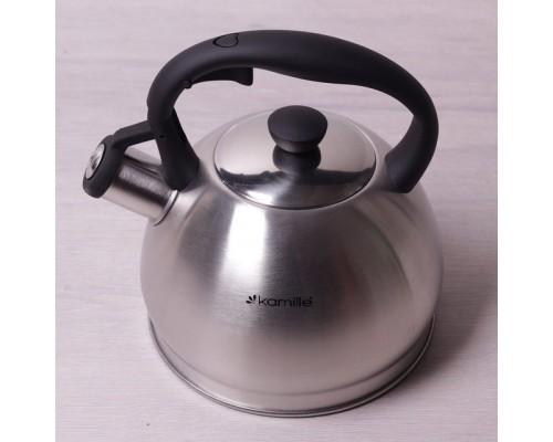 Чайник 2 л. Kamille 0693N из нержавеющей стали.