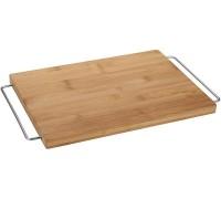 Доска разделочная Bergner 5250, 45*25*2 см. бамбуковая.