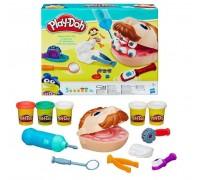 Игровой набор стоматолога мистер зубастик пластилин для лепки Joy Toy MK 1525 PM