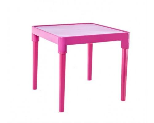Стол детский 51 х 51 см h-47 см розовой Алеана-100025 PM