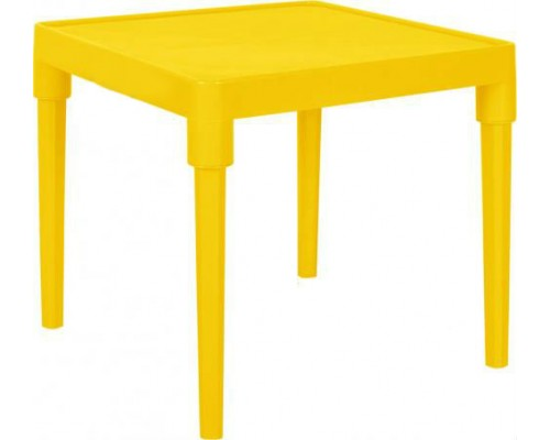 Стол детский 51 х 51 см h-47 см желтый Алеана-100025 PM