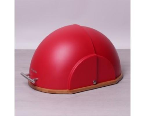 Хлебница Kamille 1101/r 36,5х26,5х19 см. красная.