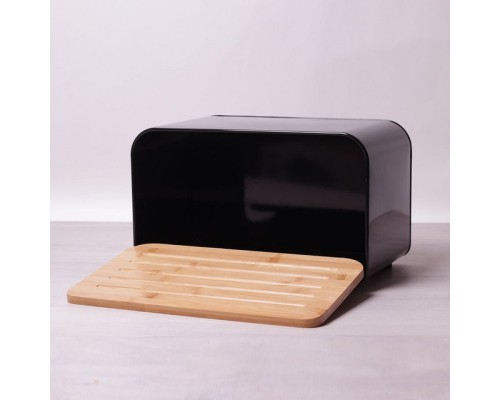 Хлебница Kamille 1107/b 35х20х21 см. черная.
